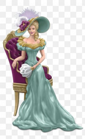 Europe And America Palace Girls - Victorian Era Figurine Woman Lady Collectable PNG