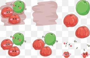 Plum Expression Vector Kiss - Facial Expression Apricot Clip Art PNG