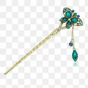 Bob Hair Accessories Blue Classical Creative - Hairpin Barrette Capelli Fashion Accessory Hair Stick PNG