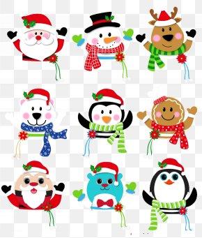 Creative Christmas - Christmas Gift Santa Claus Clip Art PNG