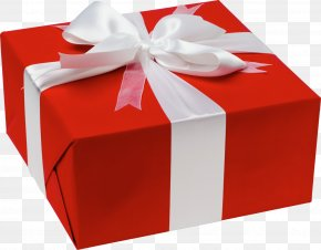 Gift - Gift Wrapping Birthday New Year Shop PNG
