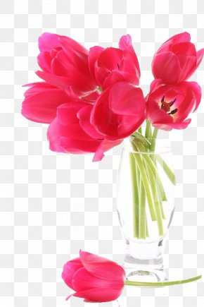 Rose Red Tulips Bouquet - Love Lyrics Song Feeling PNG