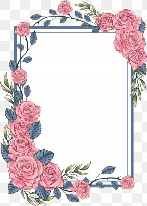 Floral Bohemia - Paper Picture Frames Graphic Design PNG
