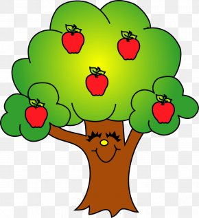 Tree Clip Art - Apple Tree Fruit Clip Art PNG