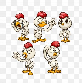 Chicken - Chicken Cartoon Clip Art PNG
