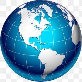 Globe - Globe World Map PNG