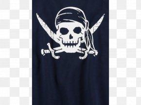 Skull - Skull Jolly Roger Piracy Font PNG