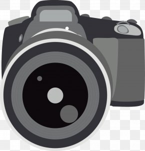 Hand-painted Decoration Photo Camera - Camera PNG