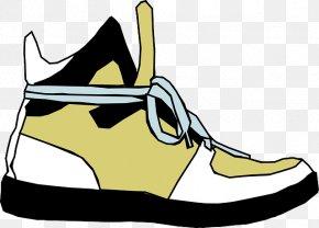 Cartoon Shoe - Sneakers Shoe Air Jordan Clip Art PNG
