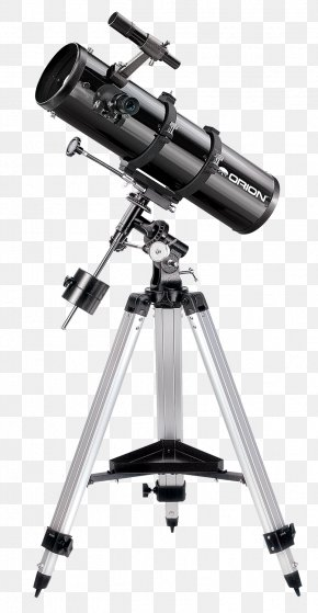 Orion Telescopes & Binoculars Reflecting Telescope Equatorial Mount Astronomer PNG