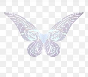 Light Blue, Pointed Wings - Butterfly Baby Blue Adult PNG
