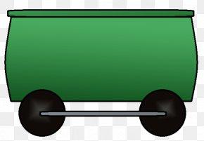 Green Train - Train Rail Transport Passenger Car Railroad Car Boxcar PNG