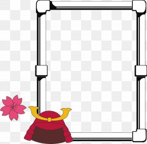 Line Border - Picture Frame Drawing 3D Computer Graphics Clip Art PNG