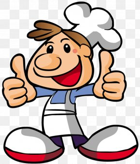 Cooking - Pizza Chef Cooking Cartoon PNG