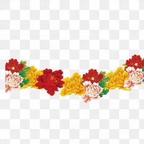 Peony - Chinese New Year Chicken Chinese Zodiac PNG