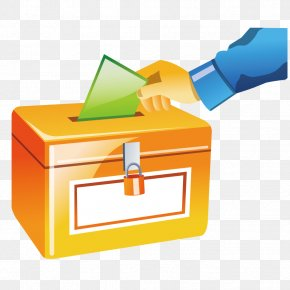 Vector Letter Box Vote - Election Ballot Box Voting PNG