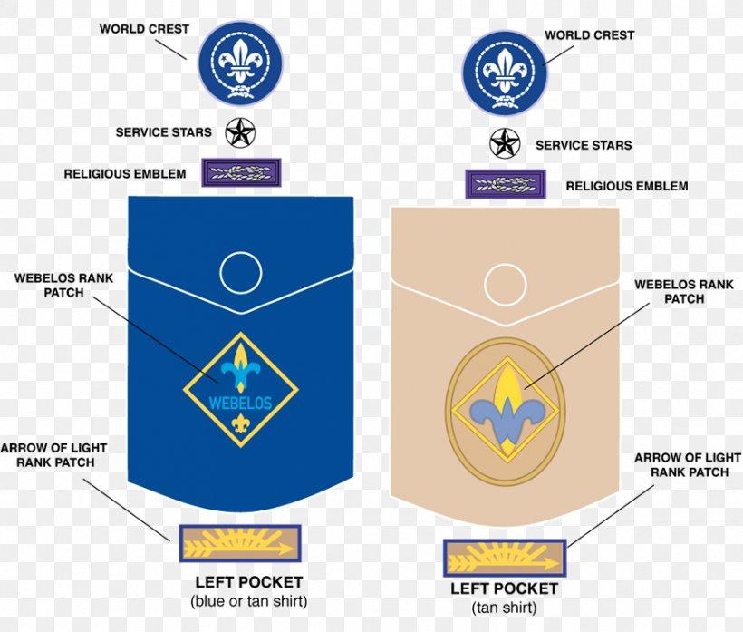Arrow Of light Badge Emblem Patch BSA Rank