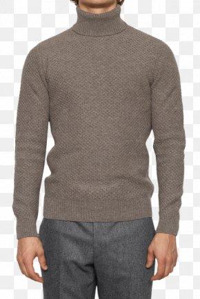 Green Wool Jacket With Hood - Sleeve Neck Wool PNG
