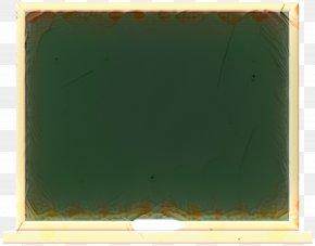 Picture Frame Blackboard - Background Green Frame PNG