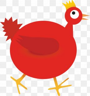 Chicken - The Little Red Hen Chicken Stock Illustration Vector Graphics PNG