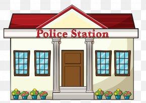 Police,Station - Police Station Police Officer Royalty-free Clip Art PNG