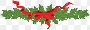 Christmas - MacGowan's Christmas Tree Farm Garland Wreath Clip Art PNG