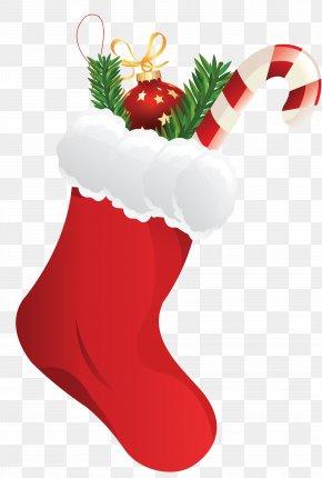 Christmas Candy - Christmas Stockings Sock Clip Art PNG