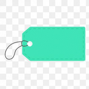 Label Rectangle - Green Turquoise Aqua Teal Rectangle PNG