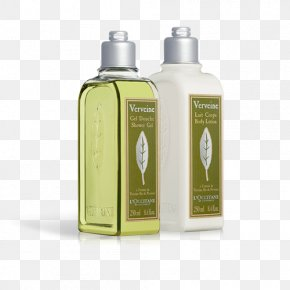 Perfume - Lotion L'Occitane En Provence Shower Gel Perfume Bathing PNG