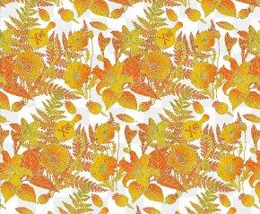 Gold Leaf Background Patterns - Yellow Leaf Gold Pattern PNG