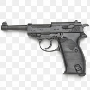 Weapon - Second World War Luger Pistol Walther P38 PNG