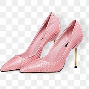 Women's High-heeled Shoes - Shoe High-heeled Footwear Designer PNG