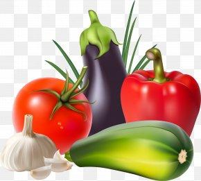 Vegetable - Vegetable Tomato Garlic Bell Pepper PNG