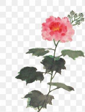 Watercolor Flowers - Watermark Flower Watercolor Painting Gratis PNG