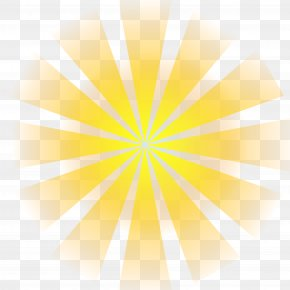 Sun,sunlight - Sunlight Sky Yellow Wallpaper PNG