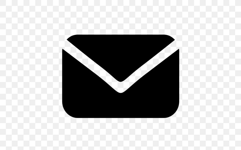 Email Vector Graphics Png 512x512px Email Black Blackandwhite Computer Program Flat Design Download Free