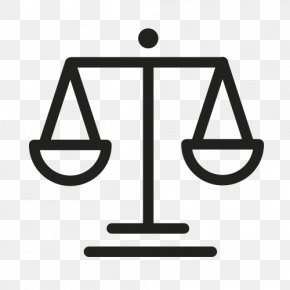 Law Icon - Measuring Scales Clip Art PNG