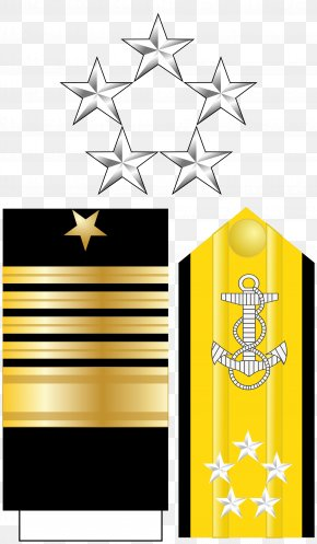 Military - Rear Admiral Fleet Admiral United States Navy Officer Rank Insignia Admiral Of The Fleet PNG