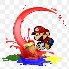 Color Splash - Super Mario Bros. Paper Mario: Color Splash Paper Mario: Sticker Star PNG