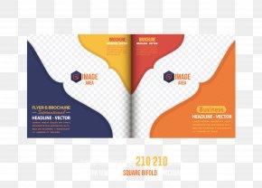 Beautiful Album Design Layout Vector Material - Flyer Brochure PNG