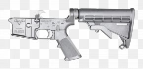 Lower - Trigger Firearm Stock Receiver Air Gun PNG