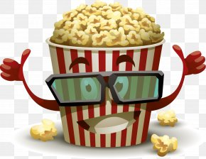 Popcorn - Popcorn 3D Film Cinema PNG