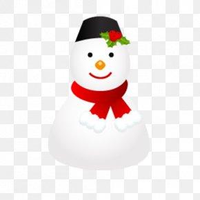 Cartoon Snowman Christmas Winter Elements - Snowman ICO Icon PNG