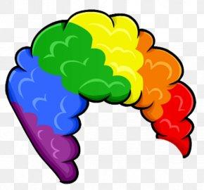Clown Wig Cliparts - Wig Clown Costume Clip Art PNG