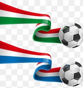 Football - Italy France Flag Clip Art PNG