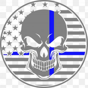 Thin Blue Line - Thin Blue Line Police Officer Law Enforcement Officer PNG