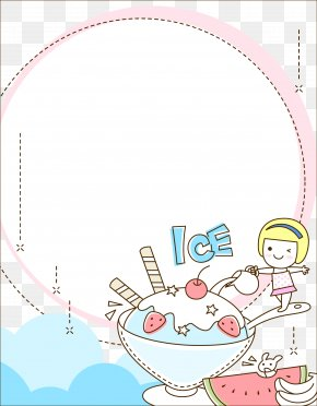 Children's Summer Ice Cream Cute Creative - Computer Icons PNG