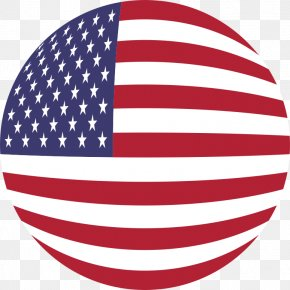 American - Flag Of The United States Globe Clip Art PNG