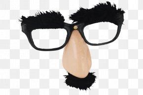 Glasses - Glasses Eyebrow Nose Facial Hair PNG