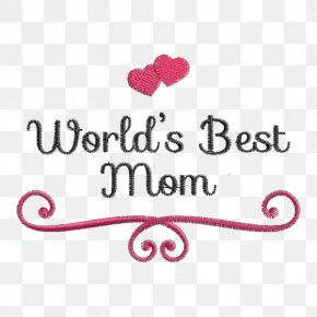 Best Mom - Embroidery Mother's Day Woman May PNG